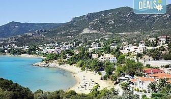 Почивка през май или юни в курортно селище Палио, близо до Кавала, Гърция! 1 нощувка със закуска в aпартхотел House Elena, безплатно за дете до 3г.
