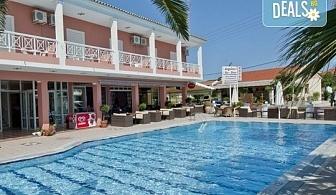 Почивка през септември на о. Корфу, Гърция: 3 нощувки със закуски в Angelina Hotel & Apartments, транспорт и водач, нощен преход на отиване!