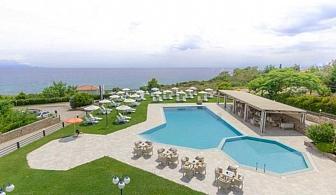 Почивка през  Юли в хотел Исмарос - Марония, Гърция за една нощувка, закуска ,вечеря и открит басейн / 14.07 - 27.08