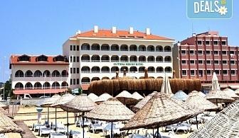 Почивка през юни в Айвалък, Турция с Дениз Травел! 7 нощувки на база All Inclusive в Olivera Resort 3*, възможност за транспорт!