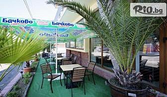 Почивка в Приморско! Нощувка със закуска и вечеря + едночасова разходка с яхта, от Хотел Монтестар 2 на 350 метра от плажа