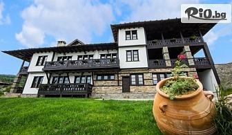 Почивка в Родопите през Февруари! Нощувка със закуска и вечеря + вътрешен басейн и релакс зона, от Хотел Лещен