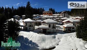 Почивка в Родопите през Януари! 2 или 3 нощувки със закуски + релакс пакет и басейн с минерална вода, от Хотел Форест Глейд, Пампорово
