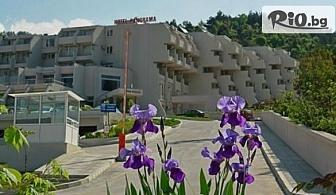 Почивка в Сандански! Нощувка със закуска за ДВАМА или ТРИМА + сауна и една процедура йонна детоксикация за всеки, от Хотел Панорама 3*