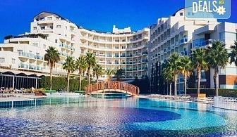 Почивка в Sea Light Resort Hotel 5*, Кушадасъ, Турция! 5 или 7 нощувки на база 24 ч. Ultra All Incl., безплатно за дете до 13 г., възможност за транспорт!