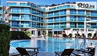 Почивка в Слънчев бряг през Юли и Август! All Inclusive нощувка + басейн, шезлонг и чадър, от Хотел Синя Ривиера 3*