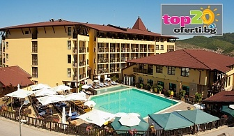 5* Почивка във Велинград! Нощувка със закуска и вечеря + Минерални басейни, СПА пакет и Детски кът в Гранд хотел Велинград 5*, Велинград, на цени за 75 лв./човек