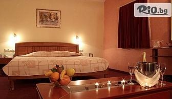 Почивка във Велинград! Нощувка със закуска и вечеря + Спа пакет и басейн с минерална вода, от Бутиков Хотел Лъки Лайт 4*