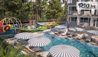 Почивка в Златни пясъци! Нощувка на база All Inclusive + СПА пакет, басейни и аквапарк, от новооткрития Престиж Делукс Хотел Аквапарк Клуб 4*