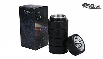 Подаръчна термо чаша термос автомобилни гуми Tyre cup 300ml, от Svito Shop