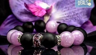 Подарък за любимата! Ръчно изработени гривни от естествени камъни и бонус: специална подаръчна кутийка от TSVjewelry