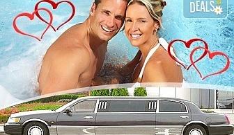 """Подарете SPA пакет """"Милано""""! Трансфер с лимузина """"Lincoln"""" до Senses Massage & Recreation, синхронен масаж за двама, 2 чаши италианско вино, перлена вана и плодово изкушение от San Diego Limousines!"""