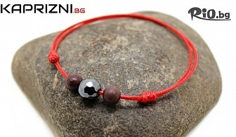 Подари си Гривна АМУЛЕТ с камъни + красива подаръчна торбичка, от Онлайн магазин Kaprizni.bg
