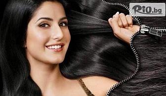 Подстригване, масажно измиване и терапия за коса с Omniplex с 55% отстъпка, от Салон за красота Madonna