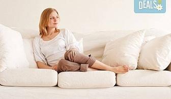 Погрижете се за меката мебел с пране на холна гарнитура до 6 седящи места и матрак или килим по избор от Професионално почистване Брилянтин БГ!