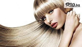 Полиране на косата с полировчик Fasiz или Парти прическа, от Салон за красота House of beauty