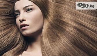 Полиране на косата с полировчик с 50% отстъпка, от Салон за красота V.G. Style