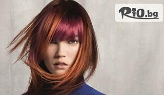 Полиране на косата с полировчик - за премахване на цъфтящи крайчета със запазване на дължината от 8.50лв, от Салон за красота Вижън