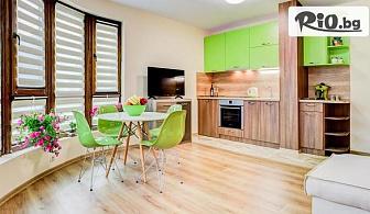 В Поморие до края на Септември! Нощувка в едноспален апартамент за до четирима, от Апартаменти за гости Sea Garden Apart на 100м. от плажа