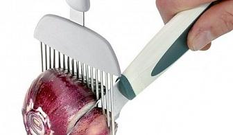 Помощен уред за рязане на лук Tescoma от серия Presto