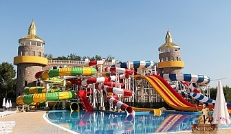 Посетете най-новия Аквапарк Нептун, на 3км. от Созопол до замъка Влюбен във Вятъра, Равадиново!