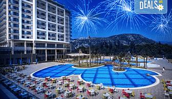 Последни места за Нова година в Amara Sealight Elite 5*, Кушадасъ! 4 нощувки на база Ultra All Inclusive, празнична вечеря и ползване на СПА
