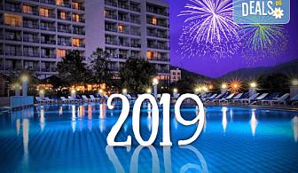 Посрещнете Нова година 2019 в хотел Tusan Beach Resort 5*, Кушадасъ, с Глобус Холидейс! Пакети с 3 или 4 нощувки на база All Inclusive, Новогодишна вечеря, възможност за транспорт