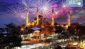 Посрещнете Новата 2019-та година в Истанбул с Глобус Турс! 2 или 3 нощувки със закуски в хотел 3*, бонус програма, водач и транспорт!
