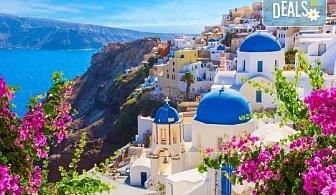 Посрещнете Великден на романтичния остров Санторини! 4 нощувки със закуски в хотел 3*, транспорт и водач от Данна Холидейз