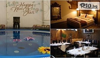Посрещни Нова година в Свищов! Празнични пакети със закуски и вечери /едната Празнична/ + Термално СПА джакузи, от Хотелски комплекс Манастира
