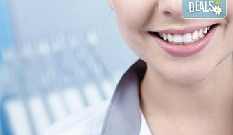 Поставяне на фасета от висококачествен композитен материал и естетическо възстановяване на зъб от Sun-Dental!