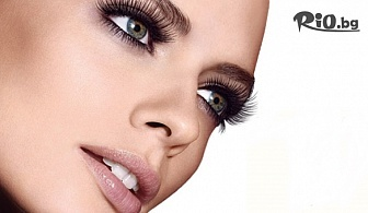 """Поставяне на копринени мигли по метода """"косъм по косъм"""", от MNJ Studio за красота"""