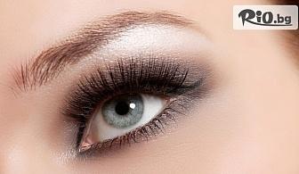 """Поставяне на мигли със 100% естествени косъмчета от норка по метода """"косъм по косъм"""", 3D или Руски обем, от Арт бутик Beauty Mirror"""