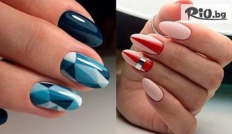 Поставяне на нова техника гел + гел лак BLUESKY, от Tesori Beauty Salon