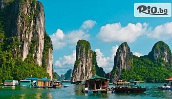ПОТВЪРДЕНА екскурзия до Виетнам и Камбоджа! 8 нощувки със закуски, 3 обяда и 2 вечери в хотели 4*/5* + амолетен транспорт и Круиз с вечеря в Хо Ши Мин, от Никона Травел