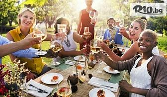 Празничен куверт с неограничено количество храна за вашето семейно, фирмено парти, рожден или имен ден, от Бистро клуб 68