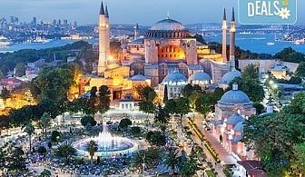 Предколедна магия в Истанбул! 2 нощувки със закуски в хотел 3*, транспорт и посещение на Желязната църква и най-новия мол Емаар!