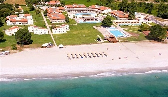 Предлагаме Ви луксозна почивка, на красив пясъчен плаж за една нощувка, закуска и вечеря в Dion Palace Beauty SPA Hotel - Олимпийска ривиера / 18.04.2017 - 30.05.2017