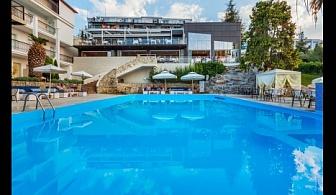 Предложение за ЛЯТО 2018 в Гърция, Халкидики: 3, 5 или 7 нощувки на база закуска и вечеря или база All Inclusive в хотел Kriopigi 4* от 153 лв