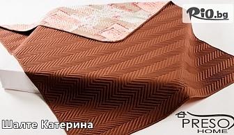 Прекрасно двулицево шалте подходящо за всеки дом в размер 150/210 или 200/210, от PRESOHOME