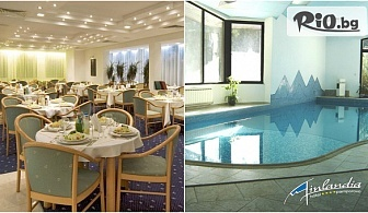През лятото в Пампорово! 2 или 3 нощувки, закуски и вечери + басейн и фитнес, от Хотел Финландия 4*