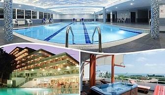През Май All Inclusive + басейн, джакузи и СПА  за 45.50 лв. в хотел Плиска***, Златни Пясъци.