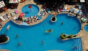 През Май в Хотел Хелиос Спа 4* - Златни пясъци за една нощувка с Ултра Ол Инклузив, открит и закрит басейн, детска анимация и детски басейн от 24 Май 2018 до 31 Май 2018