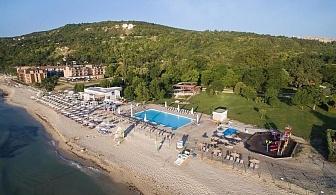 През май на първа линия в Кранево-Хотел Ефект Алгара Бийч Клуб,4 *, Ол Инклузив,чадър и шезлонг на плажа,паркинг /01.05.2021 г.-15.05.2021 г./