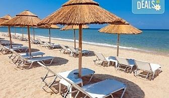През юли и август за един ден на плаж Аммолофи, Кавала, Гърция! С включени транспорт и екскурзовод от агенция Поход!