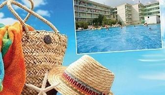 През Юни в хотел Феста, Кранево! Нощувка, закуска*, обяд*, вечеря* + басейн на цени от 12 лв.