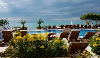 Приказно лято на самият морски бряг - хотел Афродита *** Несебър с 10% намаление! Нощувка със закуска и вечеря + басейн с чадър и шезлонг!!!