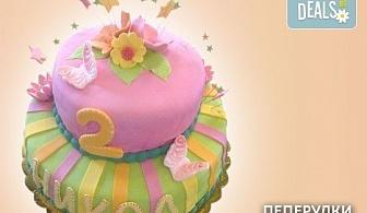 За принцеси! Торта с 3D дизайн с корона, еднорог или друг приказен герой от Сладкарница Джорджо Джани!