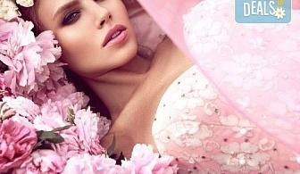 Професионален грим и прическа на адрес на клиента и бонус: поставяне на мигли от Makeup Nails and Lashes by Katerina Nik