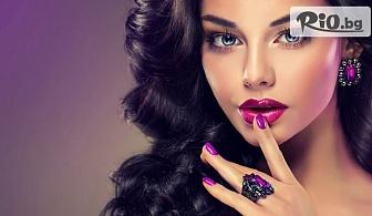 Професионален празничен грим с италианска козметика Lollipop с 50% отстъпка, от Салон за красота Madonna
